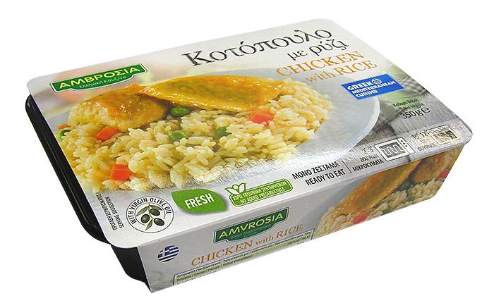 Κοτόπουλο με ρύζι 350g